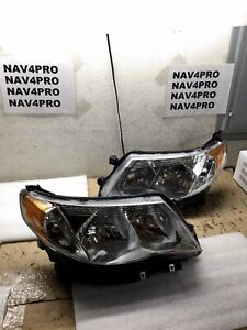 2009 2010 2011 2012 2013 Subaru Forester Halogen Headlights Headlamps Pair h120