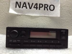 1999 2000 Honda Civic Radio Oem 39100 s01 a210 m1 961