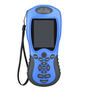 Nf 198 Gps Land Meter Area Measure Value 2 8 Display Land Survey For Mapping