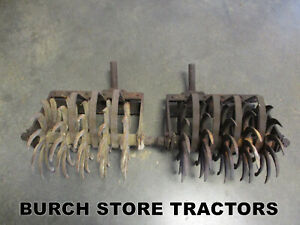 Farmall Rolling Spike Cultivators With Mounts 140 130 Super A 100 B C Tractors