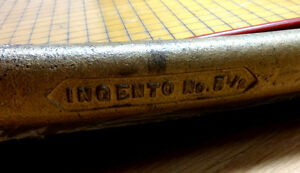 Ingento No Wood Cast Iron Antique Paper Cutter Trimmer Giant