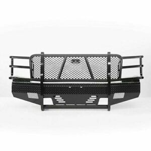 Ranch Hand Summit Blk Pc Front Bumper For 11 14 Chevy 2500hd 3500 Hd Fsc111bl1