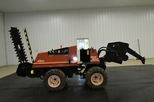 2006 Ditch Witch 410sx Trencher Vibratory Cable Plow Boring Unit vermeer Lm42