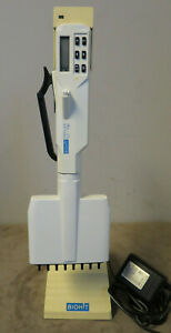 Biohit Proline 0 2 10 l Single Channel Electronic Pipette stand powersupply used