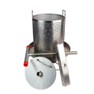 Manual Honey Extractor Stainless Steel Household Beekeeping With Some Filter New