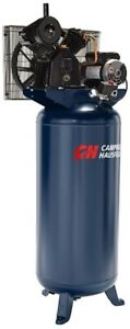 Campbell Hausfeld 3 7hp 60gallon Vertical 2stage 1ph Air Compressor Xc602100 New