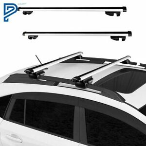48 universal Suv Aluminum Car Cross Bar Top Luggage Roof Rack Cargo Carrier