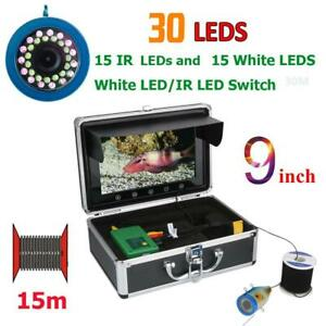 9 inch TFT Fishing Camera Infrared Underwater Fish Finder For Sea River Fishing