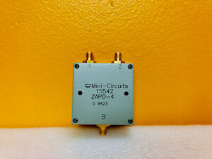 Mini circuits Zapd 4 2 To 4 Ghz Sma 2 Way 0 Power Splitter Combiner New