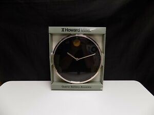 Nos Howard Miller Museum Wall Clock Model 621 246 Nathan George Horwitt Moma