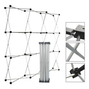 Aluminum Straight Backdrop Booth Frame Trade Show Display Stand 2 3 2 3m