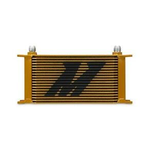 Mishimoto Universal 19 Row Oil Cooler gold