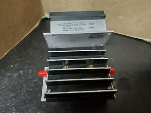 Mini circuits Zhl 1a Power Amplifier 2 To 500 Mhz Output 28dbm 630mw Tested Sma