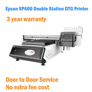 Epson Xp600 Double Station Direct To Garment Dtg Printer By Sea Shipment