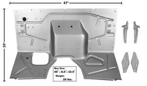 1948 52 Ford Pickup Truck Firewall W supporting Bracket