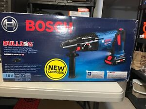 Bosch Bulldog Core18v 1 in Sds plus Cordless Rotary Hammer Drill
