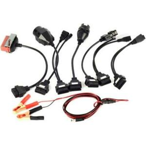 8x Car Diagnostic Cables And Connectors Set For Autocom Ds Cdp Tcs 150 150e