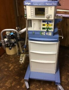 Drager Tiro Anesthesia Machine Good Condition Biomed Certified Guaranteed