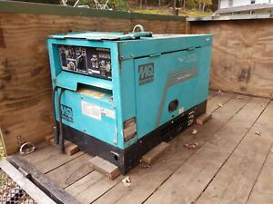 Multiquip Sdw 225ss Diesel Welder Generator And 8 Ft Trailer