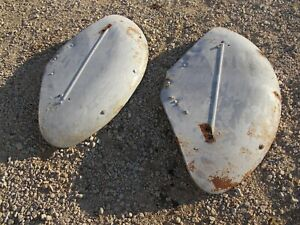 Ford 8n Tractor Good Useable Early Original Ford Fenders Pair Set