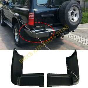 New Black Rear Bumper Protect Guard J For Toyota Land Cruiser Lc80 4500 90 1997