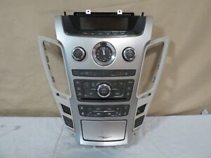 09 13 Cadillac Cts Climate Control Xm Radio Cd Aux Player Heat Cool Seats Oem