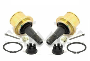 For Ford F150 Lincoln Pair Set Of 2 Front Lower Press In Ball Joints Moog