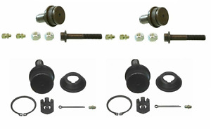 Moog Upper Lower Ball Joints For Ford Excursion F 250 F 350 00 05 2wd
