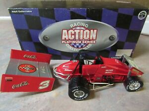 ACTION DALE EARNHARDT CUSTOM COCA COLA SPRINT CAR DIE CAST