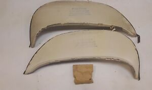 1963 Pontiac Tempest Stainless Steel Fender Skirts Flush Mounted With Flare Nos