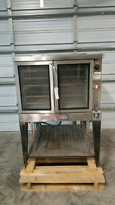 Blodgett Eze 1 Bakers Depth Electric Convection Oven 480 Volt 3 Phase Tested