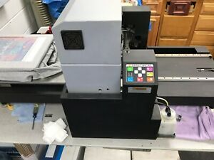 Veloci jet Xl Direct To Garment Printer W upgrades Lots Of Extras 28k Packag