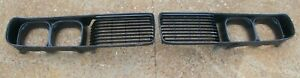 73 74 1973 1974 Dodge Charger Ralley Se Front Grille Pair