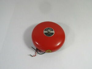 Pyrotronics Bdc 624c Pyr a larm Fire Alarm Bell 24vdc 0 06a Used
