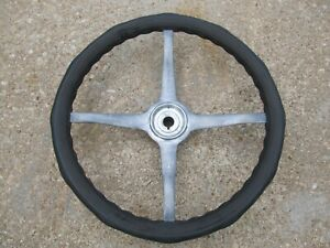 1930 31 Ford 18 Inch Shellerite Bakelite 4 Spoke Steering Wheel Packard Essex