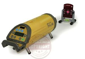 Topcon Tp l4b Pipe Laser Level Dialgrade trimble spectra agl transit sewer