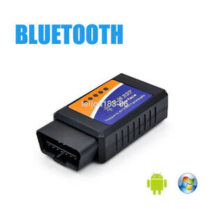 Elm327 Bluetooth Obd2 Obdii Car Diagnostic Scanner Code Reader For Android Ios