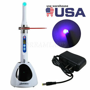 Usa I Led Dental Curing Light 1 Second Cure Lamp 2300mw cm2 Fit Woodpecker Dte