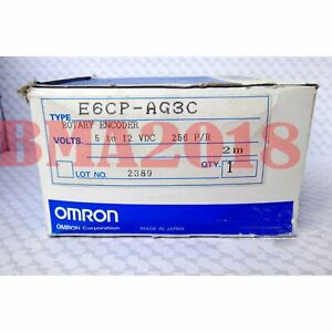 Brand New Omron Absolute Rotary Encoder E6cp ag3c Fast Delivery