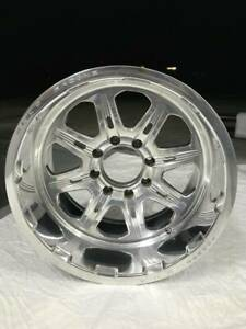Lot Of 3 Forged Wheels Weld Cheyenne 20x12 Polished Aluminum 8x170 Ford