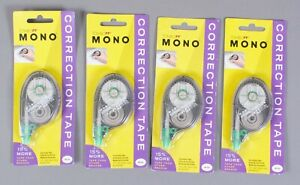 Tombow Mono Correction Tape 68620 Lot Of 4 Free Shipping
