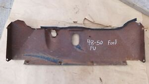 1948 1949 1950 Ford Truck Lower Grille Pan Original F1 Pickup Panel Behind Grill