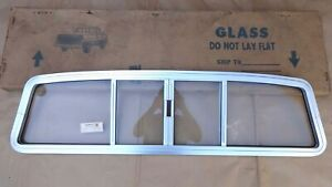 Nos 1977 1980 Ford Courier Sliding Back Window Assembly Original Rusco Mazda