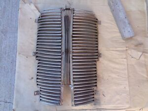 1937 Dodge Grille Halves W Center Blackstone Usa Older Aftermarket Replacement