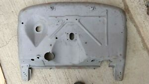 Late 1931 Model A Ford Indented Firewall Original
