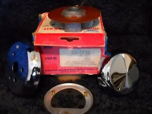 Nos 86 1720 Superior Chrome Steering Wheel Adapter Fits 1967 1969 Mopars And Mo