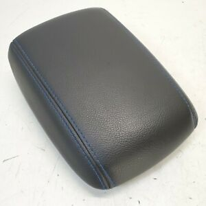 2016 2018 Ford Focus Rs Blue stitched Center Console Armrest Compartment Lid Oem