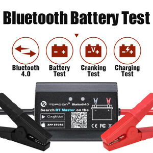12v Wireless Car Battery Tester Battery Analyzer Cranking Test Charging Test