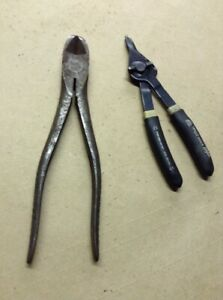 Snap on Tools Ring Pliers Diagonal Pliers