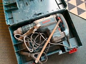 Bosch Rh850vc Sds Max Rotary Hammer Drill W Support Grip 120v With Case